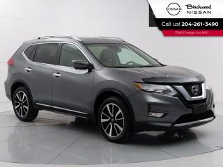 Used 2017 Nissan Rogue SL Platinum Reserve Accident Free, Navigation, Leather, Moonroof, 360 Camera's for sale in Winnipeg, MB