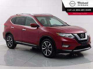 Used 2017 Nissan Rogue SL Platinum Reserve Leather, Moonroof, 360 Camera's, Remote Start, Navgation for sale in Winnipeg, MB