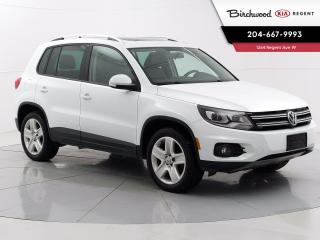 Used 2015 Volkswagen Tiguan Highline | Locally Owned | AWD | Sunroof | Remote Start | Navigation | for sale in Winnipeg, MB