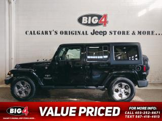 Used 2017 Jeep Wrangler Unlimited Sahara for sale in Calgary, AB