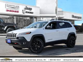 Used 2016 Jeep Cherokee TRAILHAWK | LEATHER | SUNROOF for sale in Simcoe, ON