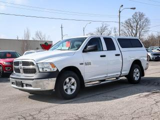 Used 2018 RAM 1500 SXT | LOW K'S | MATCHING CAP for sale in Simcoe, ON