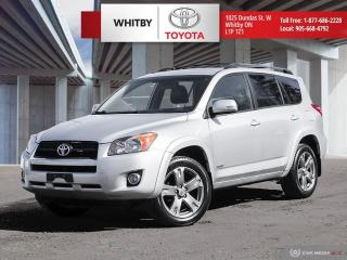 Used 2010 Toyota RAV4 Sport for sale in Whitby, ON