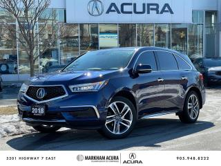 Used 2018 Acura MDX NAVI for sale in Markham, ON