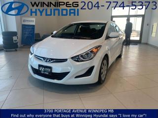 Used 2016 Hyundai Elantra GL for sale in Winnipeg, MB