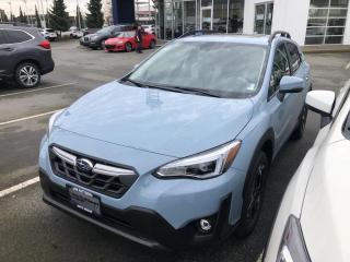 New 2021 Subaru XV Crosstrek Limited for sale in North Vancouver, BC