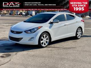 Used 2012 Hyundai Elantra LIMITED NAVIGATION/REAR CAMERA/SUNROOF/LEATHER for sale in North York, ON