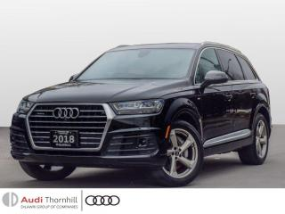 Used 2018 Audi Q7 PROGRESSIV for sale in Thornhill, ON