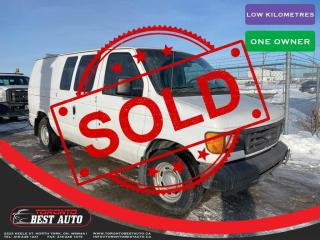 Used 2005 Ford Econoline Cargo Van SOLD IN ONE DAY! SOLD! SOLD!E-150 ONE OWNER! LOW KM! for sale in Toronto, ON