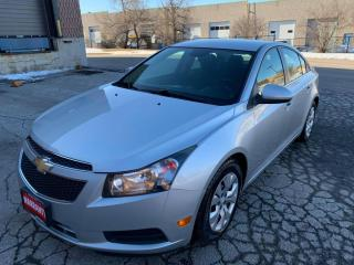 Used 2013 Chevrolet Cruze 4dr Sdn LT Turbo w/1SA for sale in Mississauga, ON