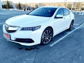 Used 2017 Acura TLX AWD V6 TECH| NO ACCIDENTS | ONE OWNER for sale in Concord, ON