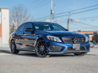 Used 2017 Mercedes-Benz C-Class C43 4MATIC   AMG   NAV   PANOROOF   CLEAN CARFAX for sale in North York, ON