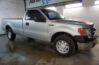 Used 2013 Ford F-150 V6 XL BLUETOOTH CERTIFIED 2YR WARRANTY *FREE ACCIDENT* CRUISE TOW HITCH for sale in Milton, ON