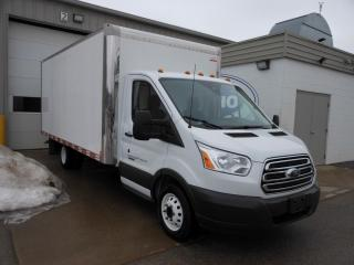 Used 2018 Ford Transit T-350 HD DRW | 16' Cube Van | Bluetooth | Cruise Control | Reverse Camera for sale in Kitchener, ON