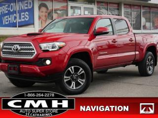 Used 2016 Toyota Tacoma TRD Sport  NAV CAM BLIND-SPOT ROOF 17-AL for sale in St. Catharines, ON