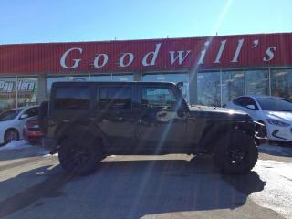 Used 2016 Jeep Wrangler Unlimited WILLYS UNLIMITED! HEATED LEATHER! BLUETOOTH! for sale in Aylmer, ON
