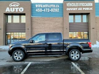 Used 2018 Ford F-150 XLT Sport SuperCrew 4RM for sale in St-Eustache, QC
