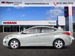 Used 2012 Hyundai Elantra GLS  - 	Sunroof -  Heated Seats for sale in Ottawa, ON