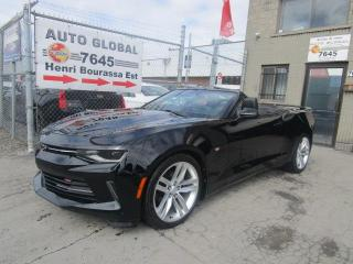 Used 2016 Chevrolet Camaro 2LT cabriolet RS Package for sale in Montréal, QC