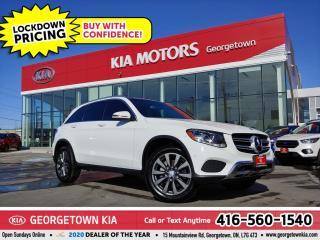 Used 2016 Mercedes-Benz GL-Class GLC 300 4MATIC | LTHR | NAV | PANO ROOF | BT | 66K for sale in Georgetown, ON