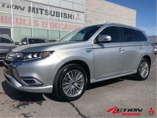 Used 2020 Mitsubishi Outlander Phev GT S-AWC HYBRIDE+CUIR+TOIT+MAGS+CLÉ INTELLIGENTE for sale in St-Hubert, QC