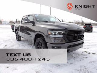 New 2021 RAM 1500 Sport | Night Edition | B\U Camera | Leather & Sound Pkg | Panoramic Sunroof | Nav for sale in Weyburn, SK