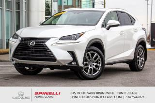 Used 2018 Lexus NX **NX 300 PREMIUM APPLE CARPLAY** *APPLE CARPLAY*SYSTEM LSS+*ANGLE MORT*CAMERA DE RECUL*BANCS CHAUFFANTS &VENTILÉ*VOLANT CHAUFFANTS* for sale in Montréal, QC