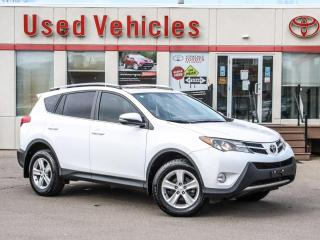 Used 2013 Toyota RAV4 XLE AWD, ALLOYS, SUNROOF, CAM, NO ACCIDENTS! for sale in North York, ON