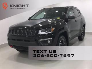 New 2021 Jeep Compass Trailhawk Elite 4x4 | Leather | Navigation | Sunroof | for sale in Regina, SK