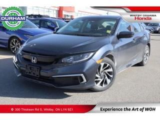 Used 2020 Honda Civic EX | Power Moonroof, Blind Spot Display for sale in Whitby, ON