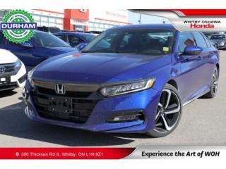 Used 2020 Honda Accord Sport 2.0T | Manual | Power Moonroof for sale in Whitby, ON