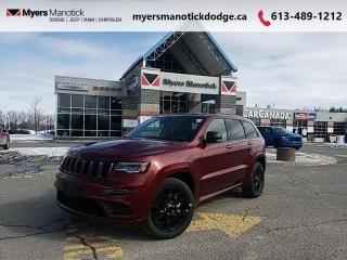 New 2021 Jeep Grand Cherokee - $352 B/W for sale in Ottawa, ON