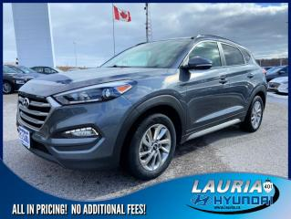Used 2017 Hyundai Tucson 2.0L AWD SE - Leather/Panoramic sunroof for sale in Port Hope, ON