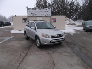 Used 2008 Toyota RAV4  AWD Limited for sale in Elmvale, ON