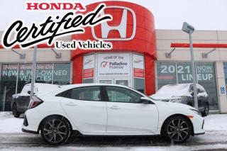 Used 2017 Honda Civic Hatchback Sport - HONDA CERTIFIED - RATES STARTING @ 3.69% OAC - for sale in Sudbury, ON