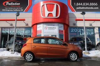 Used 2017 Mitsubishi Mirage SE - WINTER TIRES INCLUDED HEATE SEATS - for sale in Sudbury, ON