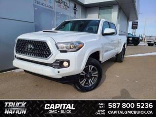 Used 2018 Toyota Tacoma SR5 4WD TRD SPORT * LOW KMS * NAVIGATION for sale in Edmonton, AB