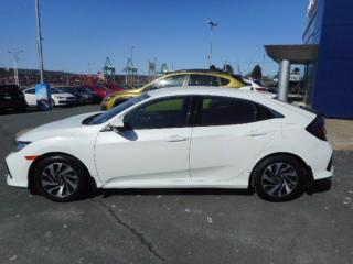 Used 2017 Honda Civic Hatchback LX for sale in Halifax, NS
