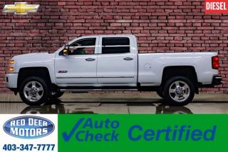 Used 2018 Chevrolet Silverado 2500 HD 4x4 Crew Cab LT Z71 Diesel Nav BCam for sale in Red Deer, AB