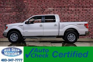 Used 2012 Ford F-150 4x4 Super Crew Lariat EcoBoost Leather Roof Nav for sale in Red Deer, AB