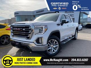 Used 2019 GMC Sierra 1500 SLT 4x4 Crew Cab | Heated & Cooled Seats for sale in Winnipeg, MB