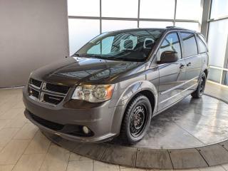 Used 2015 Dodge Grand Caravan Crew Plus for sale in Edmonton, AB