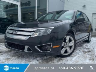 Used 2010 Ford Fusion SPORT - AWD, LEATHER, HEATED SEATS, GOOD BANG FOR BUCK! for sale in Edmonton, AB
