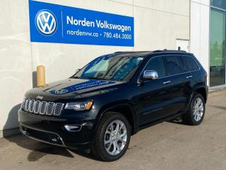 Used 2018 Jeep Grand Cherokee OVERLAND 4X4 DIESEL - LOADED! for sale in Edmonton, AB
