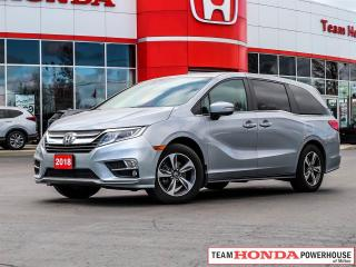 Used 2018 Honda Odyssey EX-L RES--1 Owner--Leather--Remote Starter--Rear Entertainment--Apple Carplay/Android Auto for sale in Milton, ON