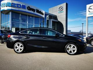 Used 2017 Chevrolet Cruze Premier Auto for sale in Owen Sound, ON