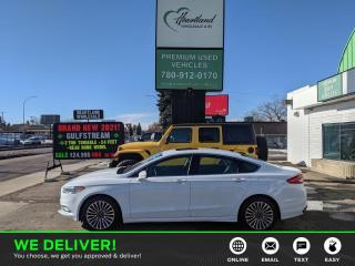 Used 2017 Ford Fusion AWD | REMOTE START | HEATED SEATS | PANORAMIC SUNROOF-USED EDMONTON FORD DEALER for sale in Edmonton, AB