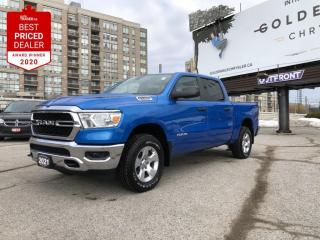 New 2021 RAM 1500 Tradesman 5.7L HEMI(R) VVT V8 w/ FuelSaver MDS, Hydro Blue Pearl, SXT Appearance Group for sale in North York, ON