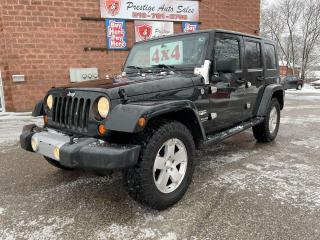 Used 2008 Jeep Wrangler SAHARA UNLIMITED/4X4/3,6L/SAFETY INCLUDED for sale in Cambridge, ON
