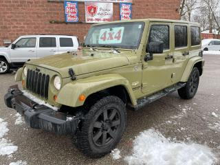Used 2013 Jeep Wrangler Sahara Unlimited/ONE OWNER/NO ACCIDENT/SAFETY INCL for sale in Cambridge, ON